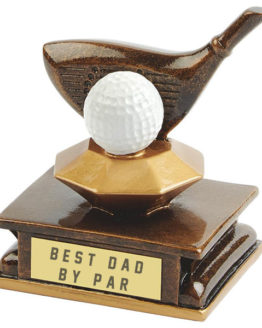 golf trophy for dad