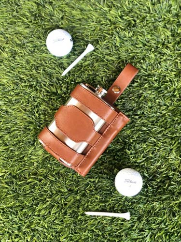 hip flask for golfer