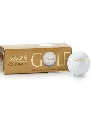golf ball chocolate